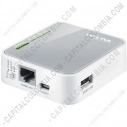Ampliar foto de Router inalámbrico N portátil 3G 150Mbps (TL-MR3020)