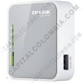Redes, Routers, Wifi, Marca: Tp-link - Router inalámbrico N portátil 3G 150Mbps, compatible con  UMTSHSPAEVDO USB modem 3GWAN failover 2 (TL-MR3020)