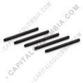 Kit de cinco (5) puntas de repuesto negras para tablas digitalizadoras Wacom Bamboo/Creative e Intuos 2/3/4/5/Pro/Cintiq