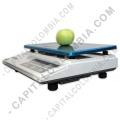 Balanzas para Puntos de Venta, Balanzas con Impresora y Visores de Precios, Marca: Cas - Balanza marca CAS con LCD Frontal y puerto serial (30Kg max) - AD1