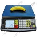 Ampliar foto de Balanza marca Quantum con LCD Frontal y Posterior con puerto serial (30Kg max)