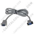 Ampliar foto de Cable serial RS232 para conectar Balanza Quantum DS30 al PC