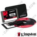 """Disco duro estado sólido Kingston 240GB SATA3 2.5"""" - Kit Portátil"""