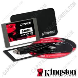 """Ampliar foto de Disco duro estado sólido Kingston 240GB SATA3 2.5"""" - Kit Portátil"""