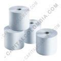 Rollos de papel para impresoras POS, Marca: CapitalColombia - Caja de Rollos de papel bond de 76mm X 40mts X 72 unidades
