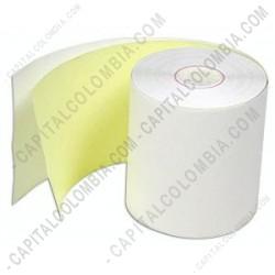 Ampliar foto de Rollos de papel químico de 76mm X 30mts X 54 unidades