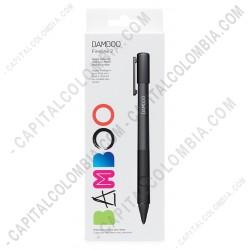 Ampliar foto de Lápiz Bamboo Stylus Fineline 2 para IPAD3 (o superior) sensible a la presión color negro (Ref. CS600C1K)