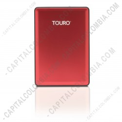 Ampliar foto de Disco Duro Externo Touro S 1000GB Red (Color Rojo)