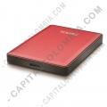 Discos duros externos, de estado sólido, Memorias USB, Kingston, Marca: Touro - Disco Duro Externo Touro S 1TB Rojo 7200 PA