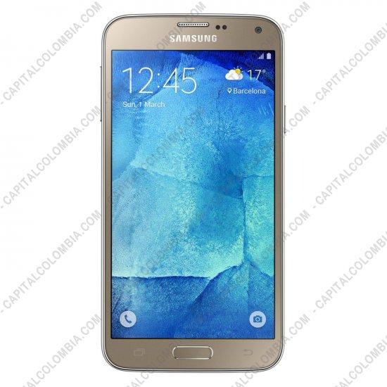 Celulares (Smartphones), Tabletas y Movilidad, Marca: Samsung - Celular/SmartPhone Samsung Galaxy S5 Nueva Edición GOLD