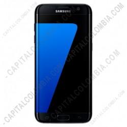 Ampliar foto de Celular Smartphone Samsung Galaxy S7 Edge Lte Color Negro Ónix (SM-G935FZKLCOO)
