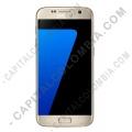 Ampliar foto de Celular/Smartphone Samsung Galaxy S7 LTE Color Dorado Platino