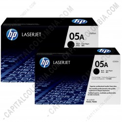 Ampliar foto de Toner Hp Negro Caja X 2 Unidades para Laserjet P2035 / P2055  2300 Pág c/u