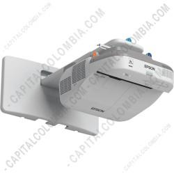 Ampliar foto de Video Proyector Interactivo Epson Bright Link 585Wi 3.300 Lumens WXGA 1280x800 (V11H600021)