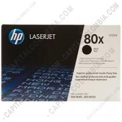 Ampliar foto de Toner Hp Negro Laserjet Pro 400 M401 (Ref. CF280X)