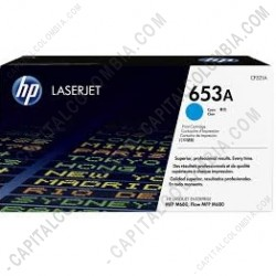 Ampliar foto de Toner HP Cyan Laserjet M680 16.500 Páginas (Ref. CF321A)