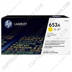 Ampliar foto de Toner Hp Yellow (Amarillo) Laserjet M680 16.500 Páginas (Ref. CF322A)