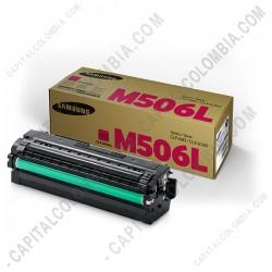 Ampliar foto de Toner Samsung Magenta para CLP-680ND/CLX-6260 Series (Ref. CLT-M506L/XAA)
