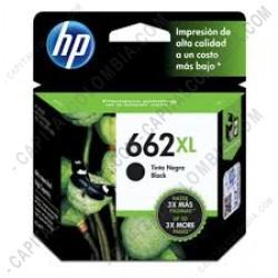Ampliar foto de Cartucho Hp Color Negro 662XL Hp Deskjet Ink Advantage 2515/3515 (Ref. CZ105AL)