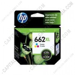 Ampliar foto de Cartucho Hp Tricolor 662XL Hp Deskjet Ink Advantage 2515/3515 (Ref. CZ106AL)