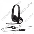 Teclados y Mouse para Gamers, Oficina y Hogar, Webcams y Diademas, Marca: Logitech - Diadema Logitech H390 - USB