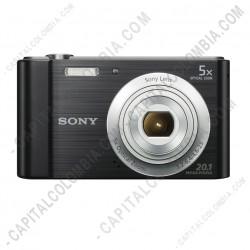 Ampliar foto de Cámara Sony con zoom óptico de 5x (Ref. DSC-W800/B)