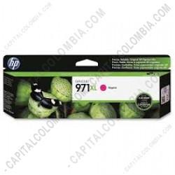 Ampliar foto de Cartucho HP Magenta 971xl OfficeJet Pro X451/X476 Dw (Ref. CN627AM)