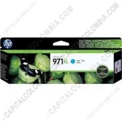 Ampliar foto de Cartucho HP Cyan 971xl OfficeJet Pro X451, X476 Dw (Ref. CN626AM)