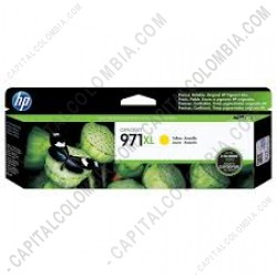 Ampliar foto de Cartucho HP Yellow 971xl OfficeJet Pro X451, X476 Dw (Ref. CN628AM)