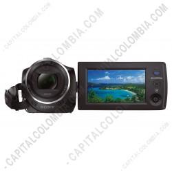 Ampliar foto de Video Cámara Sony color Negro de 60x De Zoom, Sensor R Cmos Exmor (Ref. HDR-CX405/B)