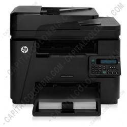 Ampliar foto de HP LaserJetPro M225DW Multifuncional BN 26 ppm - ADF Impresora - Copiadora - Fax - Escaner - Red - (Ref. CF485A#BGJ)