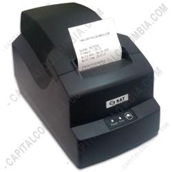 Ampliar foto de Impresora Térmica 58mm ancho de papel - SAT 15T (USB + Serial)