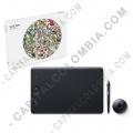 Tableta Wacom Intuos Pro Touch Medium PTH660 - Lápiz con 8.192 niveles de presión