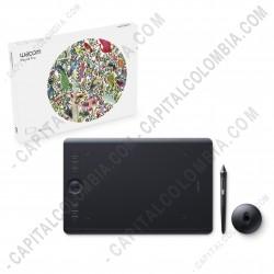 Ampliar foto de Tableta Wacom Intuos Pro Touch Medium PTH660 - Lápiz con 8.192 niveles de presión