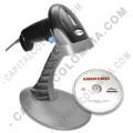 Ampliar foto de Combo Lector de código de barras láser con base USB y  Software BarrasCarta - 3nStar (SC050)