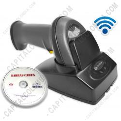 Ampliar foto de Combo Lector de Código de Barras inalámbrico 1D (150 metros 3nStar SC305) y Software BarrasCarta