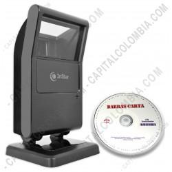 Ampliar foto de Combo Lector de Códigos de Barras 2D y 1D - Omnidireccional - Conexión USB - 3nStar SC500 (no lee cédulas colombianas) y Software BarrasCarta
