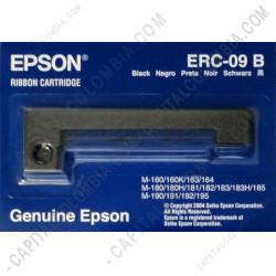 Ampliar foto de Cinta ERC-09B para Epson Serie M160, M180, M190, HX-20 Color Negro