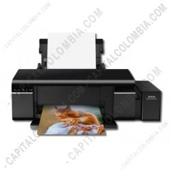 Ampliar foto de Impresora Multifuncional EPSON Wifi L805 (C11CE86301)