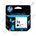 Ampliar foto de Cartucho original de tinta negra HP 74 Rendimiento Normal (Ref. CB335WL)