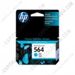 Ampliar foto de Cartucho Hp Cyan 564 Hp Photosmart Printers D5460/D7560/B8550 para 300 Páginas (Ref.CB318WL)