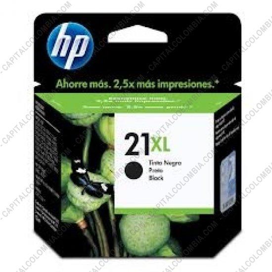 Cintas para impresoras POS, Tonner, CD, DVD y Otros, Marca: HP - Cartucho HP 21xl Negra para Deskjet F2280 para 475 páginas Aprox. (Ref. C9351CL)