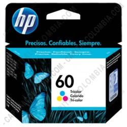 Ampliar foto de Cartucho Tricolor de Tinta Hp 60 de Bajo Rendimiento para F4280 para 165 Páginas (Ref. CC643WL)