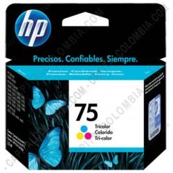 Ampliar foto de Cartucho de Tinta Hp Tricolor 75 (Ref. CB337WL)