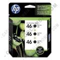 Ampliar foto de Cartucho Hp Negro 46 3-pack para Hp Deskjet Ultra Ink Advantage 2529/4729 para 4.500 Páginas (Ref. M0H62AL)