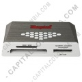 Discos duros externos, de estado sólido, Memorias USB, Kingston, Marca: Kingston - Lector multifunción compatible con tarjetas Flash - FCR-HS4