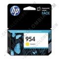 Cartucho Hp 954 Yellow (Amarillo) para Officejet Pro 8210/8710/8720 para 700 Páginas Aprox (Ref. L0S56AL)