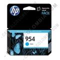 Cartucho Hp 954 Cyan Officejet Pro 8210/8710/8720 para 700 Páginas Aprox (Ref. L0S50AL)