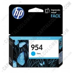 Ampliar foto de Cartucho Hp 954 Cyan Officejet Pro 8210/8710/8720 para 700 Páginas Aprox (Ref. L0S50AL)