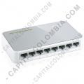 Switch Tplink de Escritorio de 8 Puertos de 10/100Mbps (Ref. TL-SF1008D)